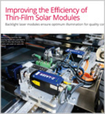 Improving the Efficiency of Thin-Film Solar Modules