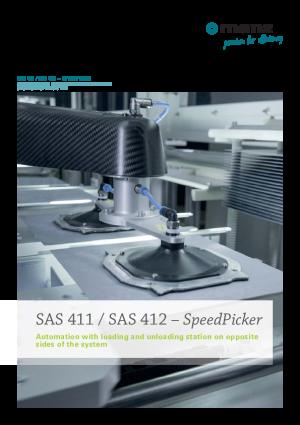 Data Sheet SAS 411/ SAS 412 SpeedPicker