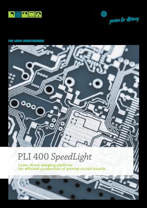 """产品目录 – 激光直接成像系统 """"PLI 400 SpeedLight"""""""