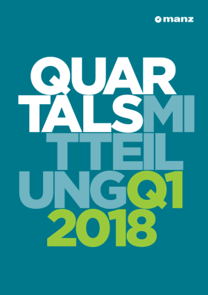Quartalsmitteilung 1. Quartal 2018