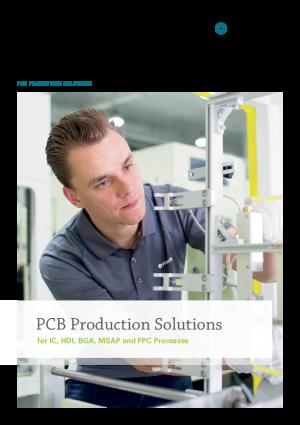 产品目录 - 印刷电路板生产解决方案