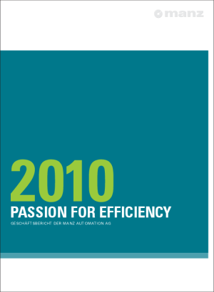 Geschäftsbericht 2010