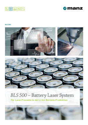 Product Brochure - Battery Laser System BLS 500