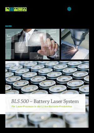 Produktbroschüre - Battery Laser System BLS 500