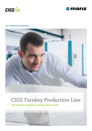 Brochure - CIGS Turnkey Production Line