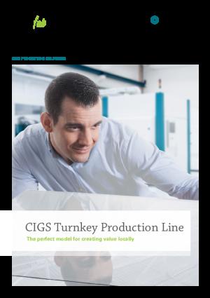 产品目录-CIGS太阳能组件生产设备整厂解决方案