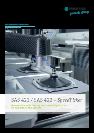 Data Sheet SAS 421/ SAS 422 SpeedPicker