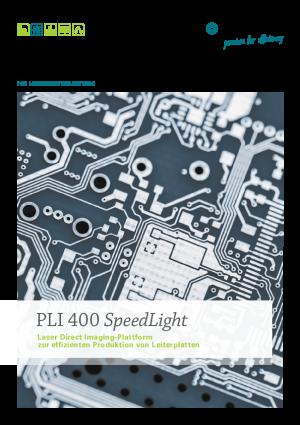"""Produktbroschüre – Laser Direct Imaging-Plattform """"PLI 400 SpeedLight"""""""