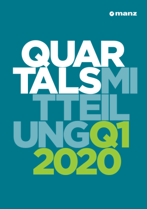 Quartalsmitteilung 1. Quartal 2020