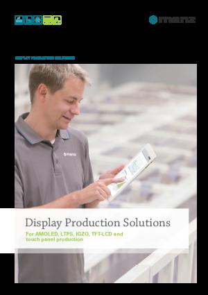 產品目錄-顯示器生產設備解決方案