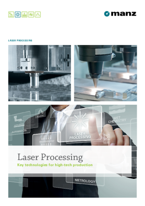 Brochure – Laser Processing Solutions for High-tech Production