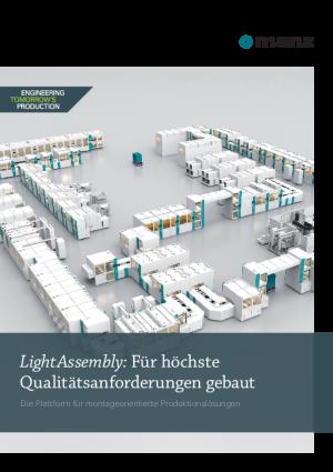 """Produktbroschüre – Montagesystem """"LightAssembly"""""""