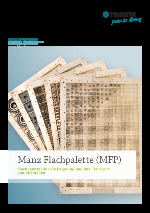 Datenblatt Flachpalette