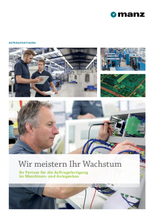 Brochure - Contract Manufacturing