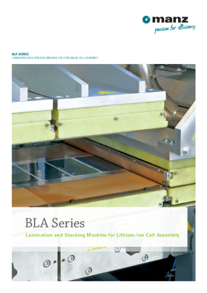 Data Sheet BLA Series